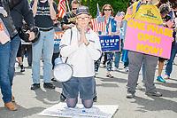 Anti-Lockdown Protest - Super Happy Fun America - Alt-Right - Swampscott MA - 16 May 2020