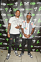 MIAMI, FLORIDA - JUNE 03: Rico Young and James McNair attends The Money Team Fight Weekend Kickoff at Victory Restaurant and Lounge on June 03, 2021 in Miami, Florida. ( Photo by Johnny Louis / jlnphotography.com )
