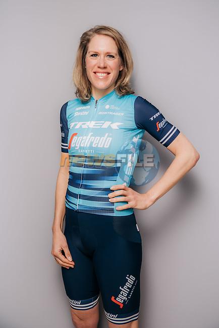Ellen van Dijk (NED) part of the Trek–Segafredo 2021 womens team.<br /> Picture: Jojo Harper/Trek Factory Racing | Cyclefile<br /> <br /> All photos usage must carry mandatory copyright credit (© Cyclefile | Jojo Harper/Trek Factory Racing)
