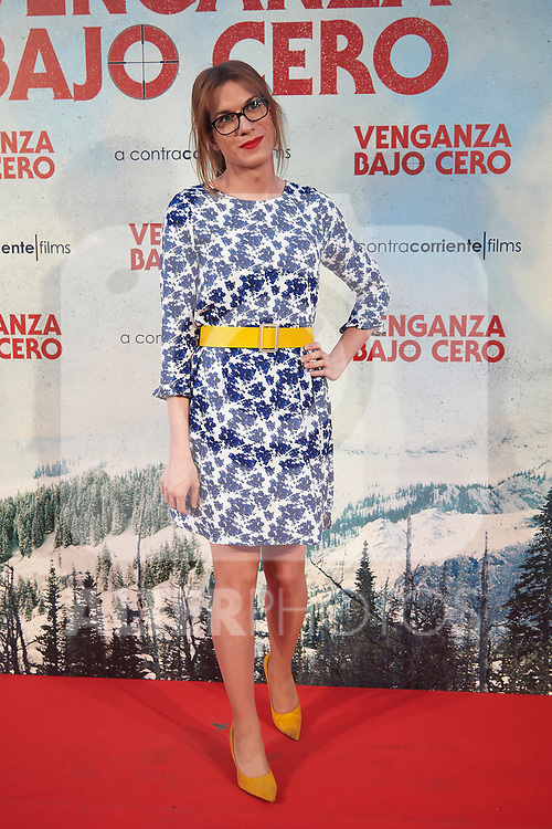 "Spanish transexual humorist Elsa Ruiz during Premiere Cold Pursuit ""Venganza Bajo Cero"" at Capitol Cinema on July 15, 2019 in Madrid, Spain.<br />  (ALTERPHOTOS/Yurena Paniagua)"