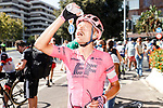 Magnus Cort Nielsen (DEN) EF Education-Nippo wins Stage 12 of La Vuelta d'Espana 2021, running 175km from Jaén to Córdoba, Spain. 26th August 2021.     <br /> Picture: Luis Angel Gomez/Photogomezsport   Cyclefile<br /> <br /> All photos usage must carry mandatory copyright credit (© Cyclefile   Luis Angel Gomez/Photogomezsport)