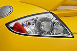 Tail light close up detail view of a 2009 Mitsubishi Eclipse GT Coupe