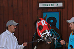 27 March 2010: Dean's Kitten in  the paddock for the 39th running of the G2 Lane's End Stakes at Turfway Park in Florence, Kentucky.