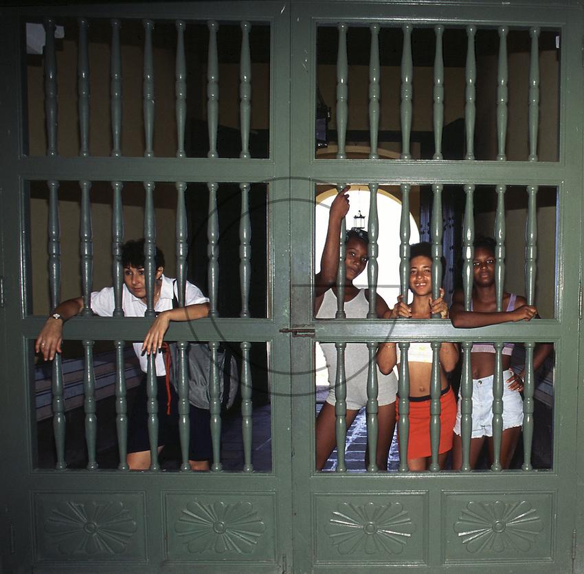 Trinidad girls in Trinidad Cuba