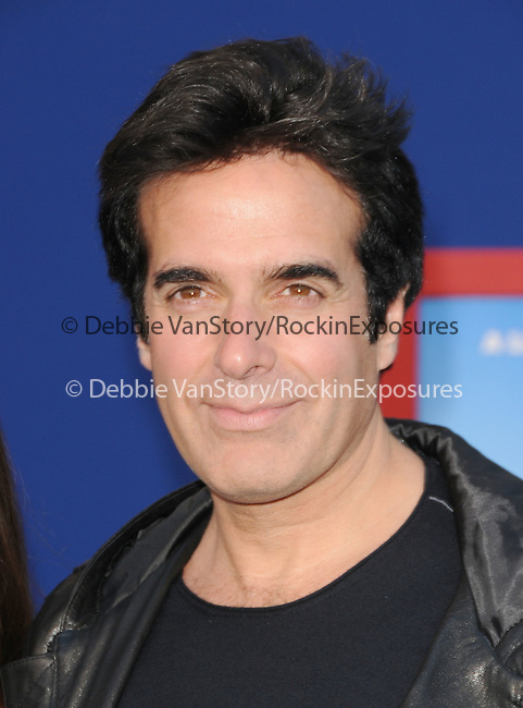 David Copperfield at Touchstone Pictures' World Premiere of Gnomeo & Juliet held at The El Capitan Theatre in Hollywood, California on January 23,2011                                                                               © 2010 DVS/Hollywood Press Agency