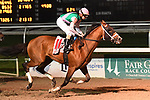 February 13, 2021: Mandaloun wins Risen Star Stakes Day at Fair Grounds Race Course in New Orleans, Louisiana. Parker Waters/Eclipse Sportswire/CSM