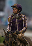 LOUISVILLE, KY - MAY 05: A dejected Ryan Moore after finishing last aboard Mendelssohn in the144th Kentucky Derby at Churchill Downs on May 5, 2018 in Louisville, Kentucky. (Photo by Alex Evers/Eclipse Sportswire/Getty Images)