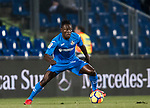 Dakonam Ortega Djene of Getafe CF in action during the La Liga 2017-18 match between Getafe CF and Athletic Club at Coliseum Alfonso Perez on 19 January 2018 in Madrid, Spain. Photo by Diego Gonzalez / Power Sport Images
