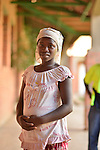 A pregnant girl at Kigali District Hospital, Kigali, Rwanda.