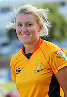 Liz Perry. Wellington Blaze headshots at Allied Nationwide Basin Reserve, Wellington on Thursday, 9 December 2010. Photo: Dave Lintott / lintottphoto.co.nz
