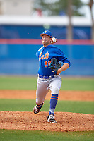 New York Mets pitcher Austin McGeorge (88) during a Minor League Spring Training intrasquad game on March 29, 2018 at the First Data Field Complex in St. Lucie, Florida.  (Mike Janes/Four Seam Images)