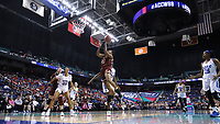 GREENSBORO, NC - MARCH 06: Taylor Soule #13 of Boston College shoots the ball during a game between Boston College and Duke at Greensboro Coliseum on March 06, 2020 in Greensboro, North Carolina.