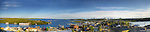 Panorama taken from Pilots' Monument in Yellowknife in July. Original file is 170 MB.