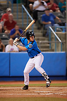 Hudson Valley Renegades first baseman Jacson McGowan (37) at bat during a game against the Tri-City ValleyCats on August 24, 2018 at Dutchess Stadium in Wappingers Falls, New York.  Hudson Valley defeated Tri-City 4-0.  (Mike Janes/Four Seam Images)