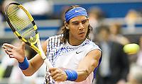 21-2-08, Netherlands, Rotterdam ABNAMROWTT 2008, Rafael Nadal against A. Seppi