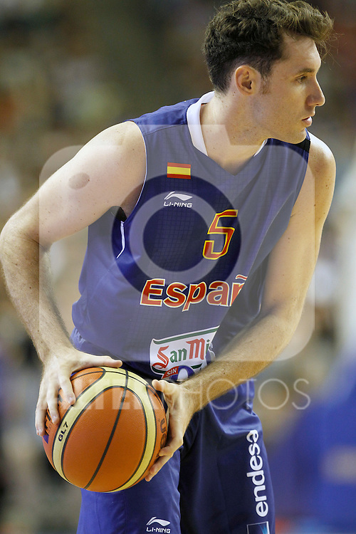 Spain's Rudy Fernandez during friendly match.July 24,2012. (ALTERPHOTOS/Acero)