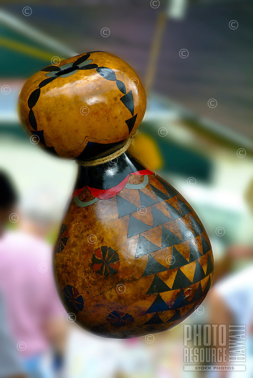 ipu heke (also ipu hula and pa ipu), made of two gourds attached together and used by hula halau as dance drum or rhythm instrument. Also for communication. A gourd is a plant cultivated for many uses. Gourds are decorated and sold at craft fairs an