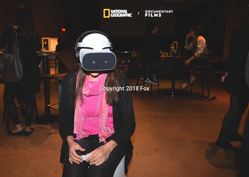 """HOLLYWOOD, CA - DECEMBER 4:  National Geographic's """"Into the Okavango"""" Premiere & Reception at at NeueHouse on December 4, 2018 in Hollywood, California. (Photo by Frank Micelotta/NatGeo/PictureGroup)"""