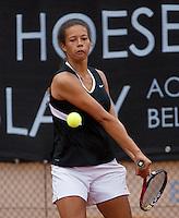 07-08-13, Netherlands, Rotterdam,  TV Victoria, Tennis, NJK 2013, National Junior Tennis Championships 2013, Savannah Sendar<br /> <br /> <br /> Photo: Henk Koster