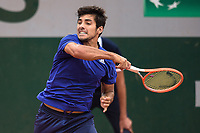 4th July 2021; Roland Garros, Paris France; French Open tennis championships day 6;  Cristian Garin ( CHI )