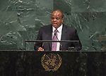 72 General Debate – 20 September <br /> <br /> His Majesty King Mswati III, Head of State of the Kingdom of Swaziland