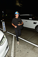 Celebrity Sightings outside Catch Restaurant in West Hollywood