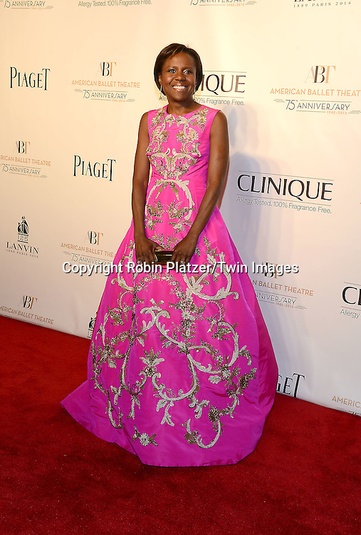 Deborah Roberts attends the Opening Night of American Ballet Theatre 2014 Fall Gala on October 22,2014 at the David Koch Theater at Lincoln Center in New York City. <br /> <br /> photo by Robin Platzer/Twin Images<br />  <br /> phone number 212-935-0770