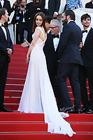LILY COLLINS AND THIERRY FREMAUX - RED CARPET OF THE FILM 'OKJA' AT THE 70TH FESTIVAL OF CANNES 2017