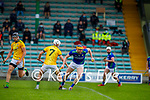Kerry's Brendan O'Leary slips past Meaths Keith Keoghan in the National hurling league in Austin Stack Park on Sunday
