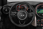 Car pictures of steering wheel view of a 2018 Mini MINI Cooper S Chilli 5 Door Hatchback