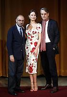20160111 TORNATORE PRESENTA IL SUO NUOVO FILM CON JEREMY IRONS E OLGA KURYLENKO