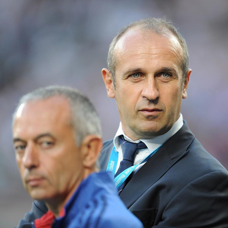 Philippe Saint-André, France Head Coach - 15/08/2015 - Twickenham Stadium - London <br /> Mandatory Credit: Rob Munro/Stewart Communications