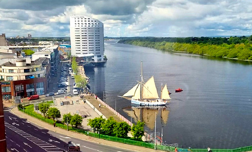 The Ship and her City – Ilen comes into Steamboat Quay in Limerick to take on valuable cargo for West Clare and Foynes