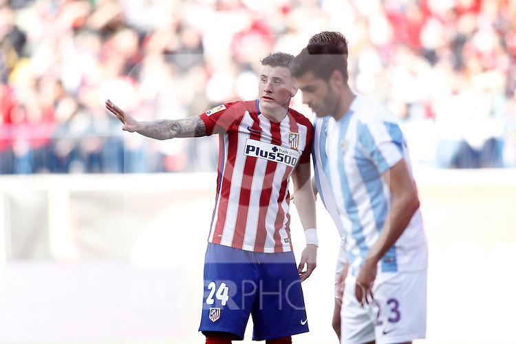 Atletico de Madrid's Jose Maria Gimenez during La Liga match. April 23,2016. (ALTERPHOTOS/Acero)