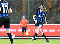 Marie Minnaert (13 Brugge) pictured during a female soccer game between Standard Femina de Liege and Club Brugge YLA on the seventh matchday of the 2020 - 2021 season of Belgian Scooore Womens Super League , saturday 14 th of November 2020  in Angleur , Belgium . PHOTO SPORTPIX.BE | SPP | DAVID CATRY