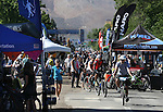 Spectators visit the vendor area of the Epic Rides Carson City Off-Road event in Carson City, Nev., on Friday, June 17, 2016.<br /> Photo by Cathleen Allison