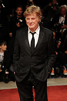 U.S. actor Robert Redford poses on the red carpet for the screening of the movie 'Our Souls At Night' at the 74th Venice Film Festival, Venice Lido, September 1, 2017. <br /> UPDATE IMAGES PRESS/Marilla Sicilia<br /> <br /> *** ONLY FRANCE AND GERMANY SALES ***