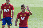 Marco asensio during training of the spanish national football team in the city of football of Las Rozas in Madrid, Spain. August 30, 2017. (ALTERPHOTOS/Rodrigo Jimenez)