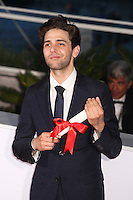 DIRECTOR XAVIER DOLAN, WINNER OF THE GRAND PRIX FOR THE FILM 'JUSTE LA FIN DU MONDE' - PHOTOCALL OF THE WINNERS AT THE 69TH FESTIVAL OF CANNES 2016