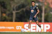 7th October 2020; Granja Comary, Teresopolis, Rio de Janeiro, Brazil; Qatar 2022 qualifiers; Danilo of Brazil during training session
