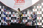 #26: Colton Herta, Andretti Autosport w/ Curb-Agajanian Honda, #10: Alex Palou, Chip Ganassi Racing Honda, #51: Romain Grosjean, Dale Coyne Racing with RWR Honda, victory lane, podium, celebration, chanpagne