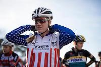 Katherine 'Katie' Compton (USA/Trek) at the start<br /> <br /> UCI Cyclocross World Cup Heusden-Zolder 2015