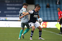 Jed Wallace of Millwall and Joseph Rankin-Costello of Blackburn Rovers during Millwall vs Blackburn Rovers, Sky Bet EFL Championship Football at The Den on 14th July 2020