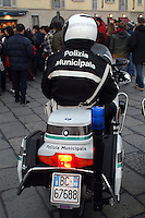 - municipal policemen on motorcycle....- vigili urbani motociclisti