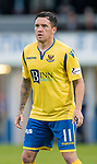 St Johnstone FC….Season 2019-20 <br />Danny Swanson<br />Picture by Graeme Hart. <br />Copyright Perthshire Picture Agency<br />Tel: 01738 623350  Mobile: 07990 594431