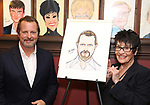 Rob Ashford and Chita Rivera during the Rob Ashford portrait unveiling for the Sardi's Wall of Fame on October 10, 2018 at Sardi's Restaurant in New York City.