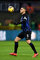 Mauro Icardi<br /> Milano 19-1-2019 Giuseppe Meazza stadium Football Serie A 2018/2019 Inter - Sassuolo <br /> Foto Image Sport / Insidefoto