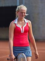 08-08-13, Netherlands, Rotterdam,  TV Victoria, Tennis, NJK 2013, National Junior Tennis Championships 2013, Myrthe Wittkamper<br /> <br /> <br /> Photo: Henk Koster