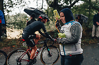 5th October 2021, AJ Bell  Womens  Cycling Tour, Stage 2,  Walsall to Walsall. Soigneur.