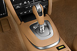 Gear shift detail view of a 2009 Porsche Carrera Coupe S